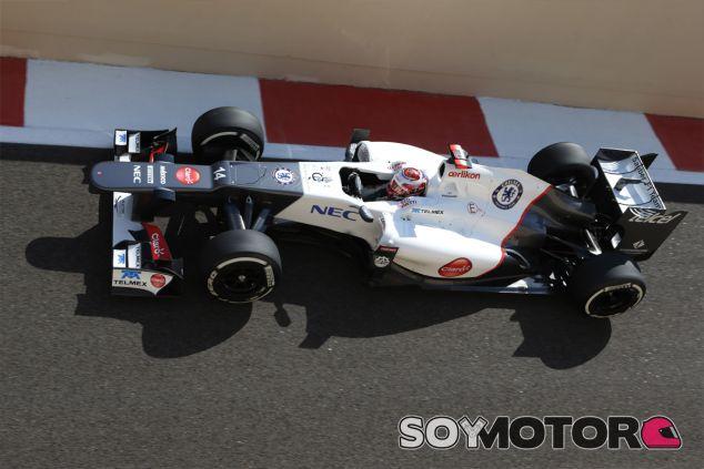 Kamui Kobayashi en el Gran Premio de Abu Dabi de 2012 - LaF1
