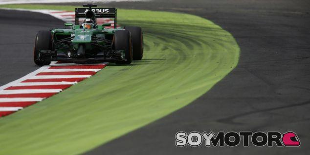 Caterham en el GP de Gran Bretaña F1 2014: Sábado