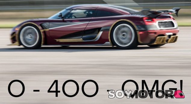Koenigsegg 0-400-0 - SoyMotor.com