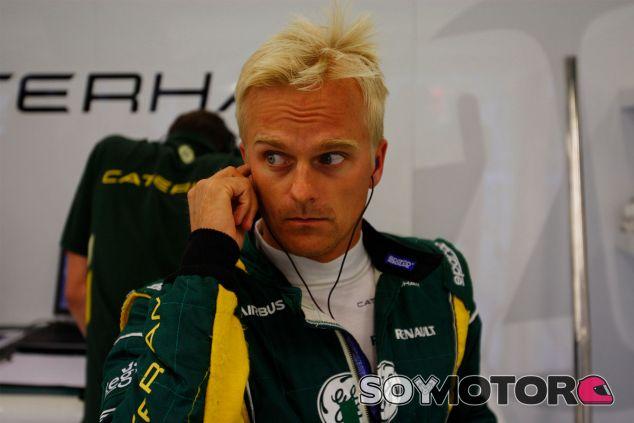 Heikki Kovalainen durante los libres del Gran Premio de Bélgica - LaF1