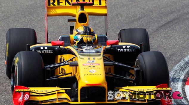 Kubica, al volante del Renault R30 - SoyMotor.com