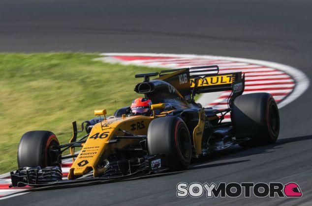Kubica, durante el día 2 de test en Hungría - SoyMotor.com