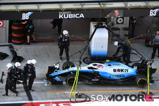 Williams culpa a la mala suerte de la retirada de Kubica en Rusia - SoyMotor.com