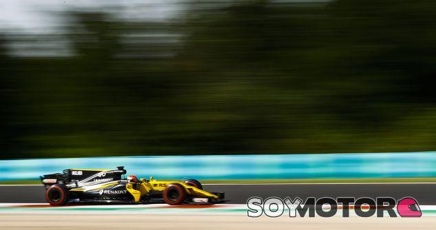 Kubica durante los tests en Hungría - SoyMotor