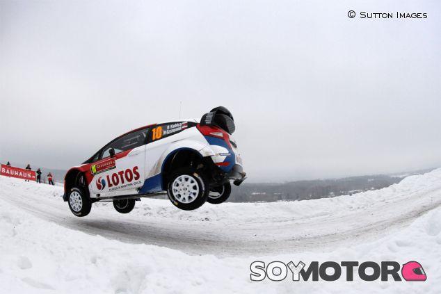 Robert Kubica y Maciek Szczepaniak en el Rally de Suecia - LaF1