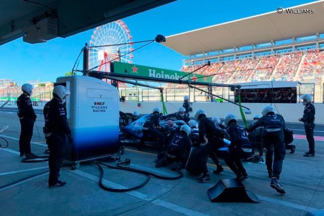 Mundial de Paradas: Williams se acerca a Red Bull en Japón - SoyMotor.com