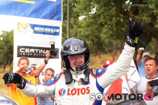 Robert Kubica en el Rallye Italia Sardeña - LaF1