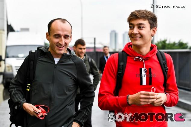 """Russell: """"Echaré de menos a Kubica"""" - SoyMotor.com"""