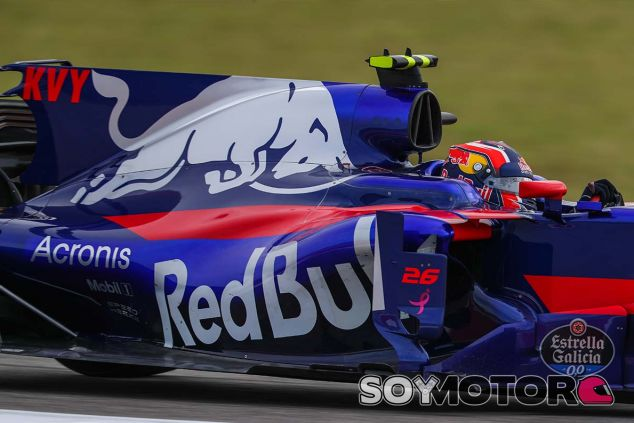 Daniil Kvyat en Austin - SoyMotor.com