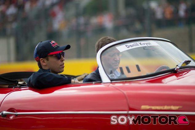 Daniil Kvyat en Spa-Francorchamps - SoyMotor.com