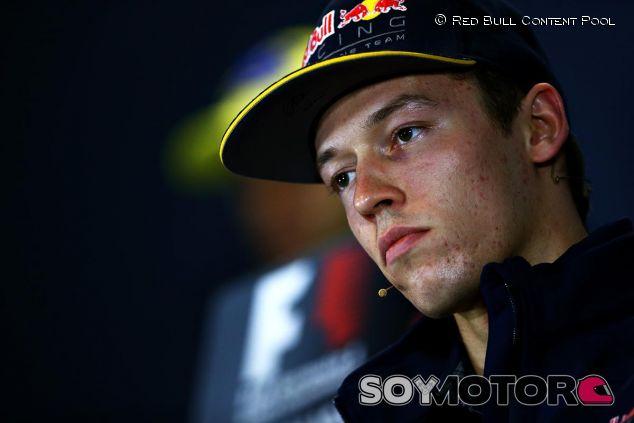 Daniil Kvyat en rueda de prensa - laF1
