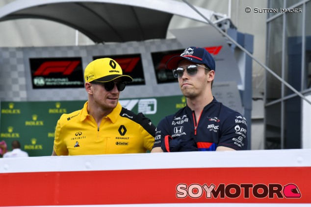 Red Bull da vida a Kvyat para 2020; Hülkenberg, descartado - SoyMotor.com