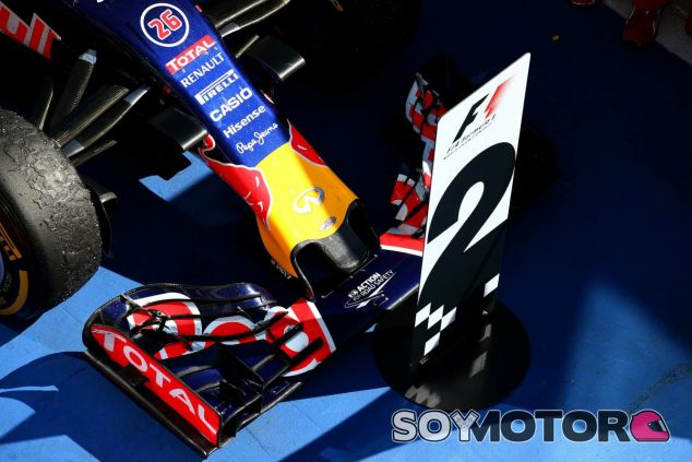 Kvyat y Ricciardo llevaron al Red Bull al podio por primera vez este año - LaF1