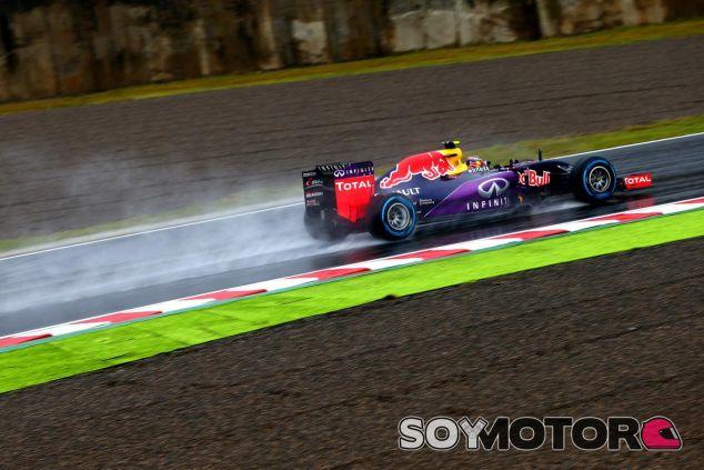 Daniil Kvyat ha sido el hombre más rápido del viernes bajo la lluvia de Japón - LaF1