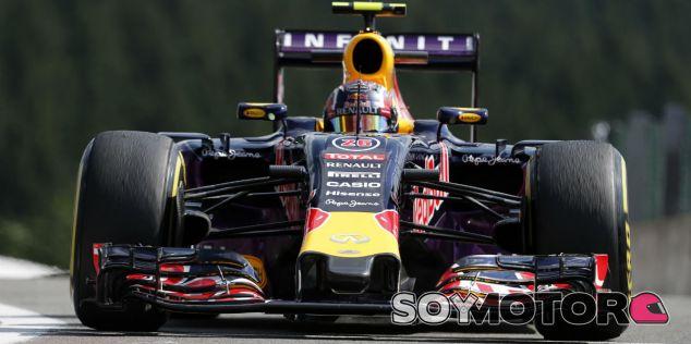 Daniil Kvyat en Spa-Francorchamps - LaF1