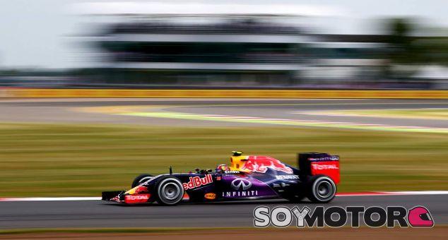 Daniil Kvyat en Gran Bretaña - LaF1