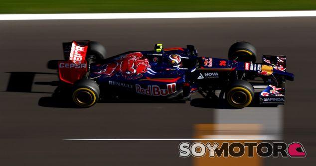 Toro Rosso en el GP de Rusia F1 2014: Domingo