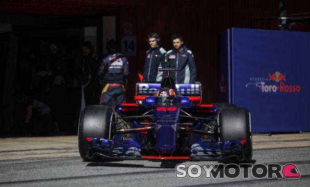Toro Rosso confía en Renault a pesar de los problemas en su motor - SoyMotor
