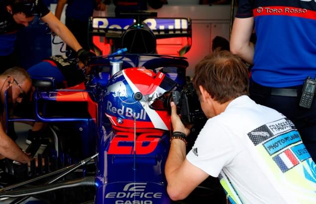 Kvyat penaliza en Francia por estrenar el motor nuevo de Honda - SoyMotor.com
