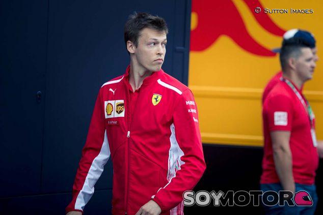 Daniil Kvyat en Monza - SoyMotor