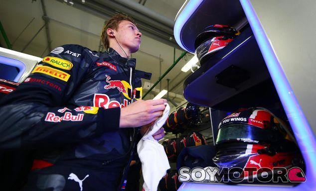 Daniil Kvyat en el pasado Gran Premio de Rusia - LaF1