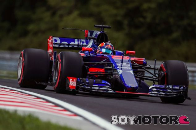 Kvyat, durante el GP de Hungría 2017 - SoyMotor.com