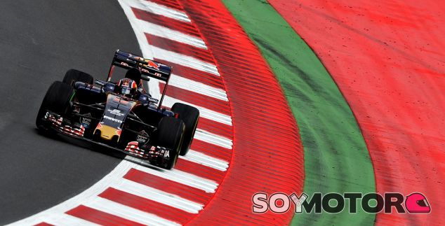 Daniil Kvyat en Austria - LaF1