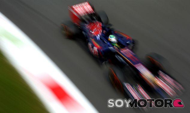 Toro Rosso en el GP de Italia F1 2014: Domingo