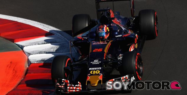 Kvyat durante el GP de México - LaF1