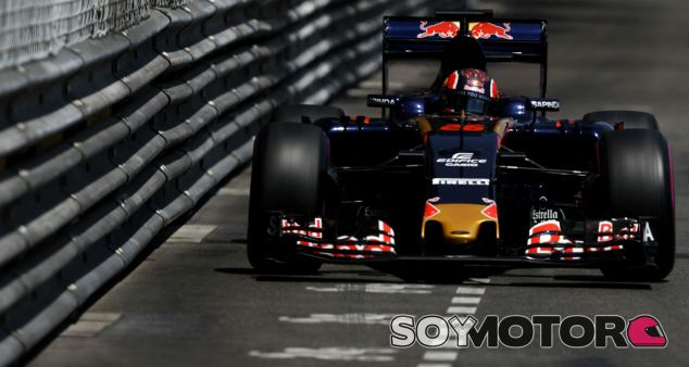 Daniil Kvyat en el pasado Gran Premio de Mónaco - LaF1