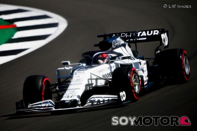AlphaTauri en el GP del 70º Aniversario F1 2020: Viernes - SoyMotor.com