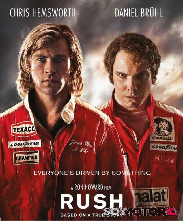 Cartel de la película 'Rush'