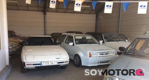 Un concesionario Lada en Francia, abandonado - SoyMotor.com