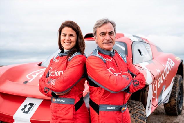 Sainz y Acciona presentan su equipo de Extreme E junto a QEV - SoyMotor.com