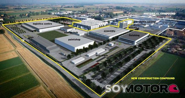 Lamborghini amplía su fábrica de Bolonia ante la llegada del Urus - SoyMotor.com