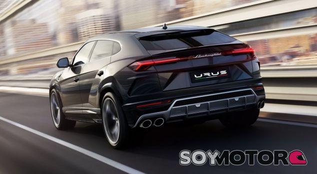 Lamborghini Urus híbrido 2020 - SoyMotor.com