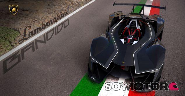 Diseño del Lamborghini Bandido realizado por de Fernando Pastre Fertonani y Yangzan Kang - SoyMotor.com