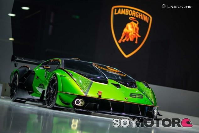 Lamborghini Essenza SCV12 en el Salón de Shanghái 2021 - SoyMotor.com