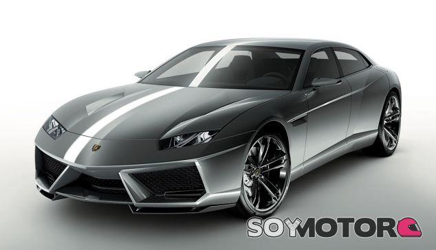 El Lamborghini Estoque Concept representa el sedán que la marca jamás llegó a construir - SoyMotor