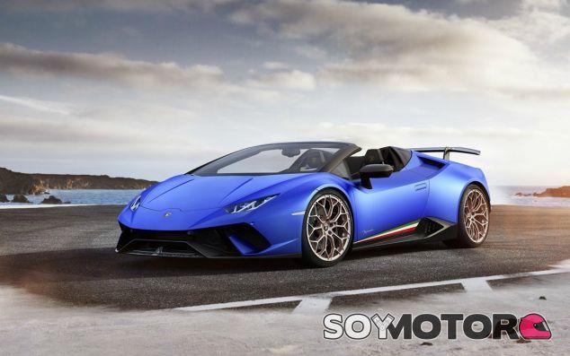 Lamborghini Huracán Performante Spyder - SoyMotor.com