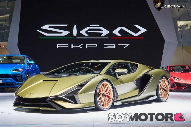 Lamborghini Sián FKP 37 - SoyMotor.com