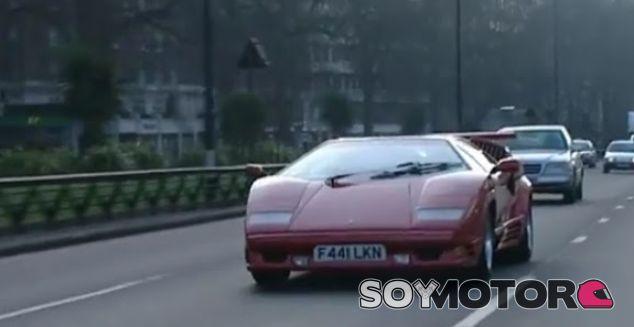 Jeremy Clarkson y el Lamborghini Countach - SoyMotor.com