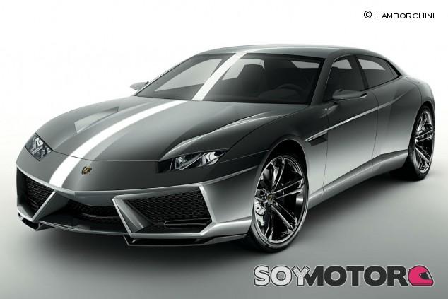 Lamborghini Estoque Concept: la versión de producción, en 2025 - SoyMotor.com
