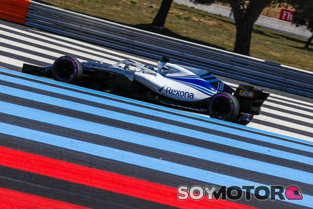 Lance Stroll en Paul Ricard - SoyMotor.com