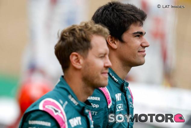 Sebastian Vettel y Lance Stroll - SoyMotor.com