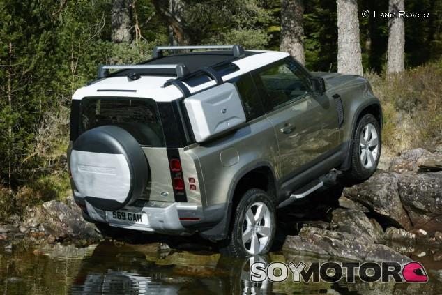 El Land Rover Defender ofrecerá un control remoto off-road - SoyMotor.com