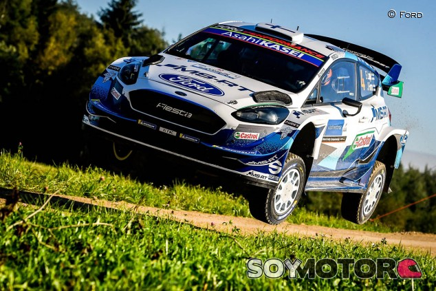 Rally Estonia 2020: Lappi, primer líder por la mínima - SoyMotor.com