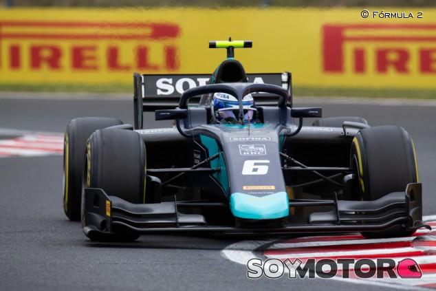 Latifi corta su mala racha con una victoria en Hungría - SoyMotor.com