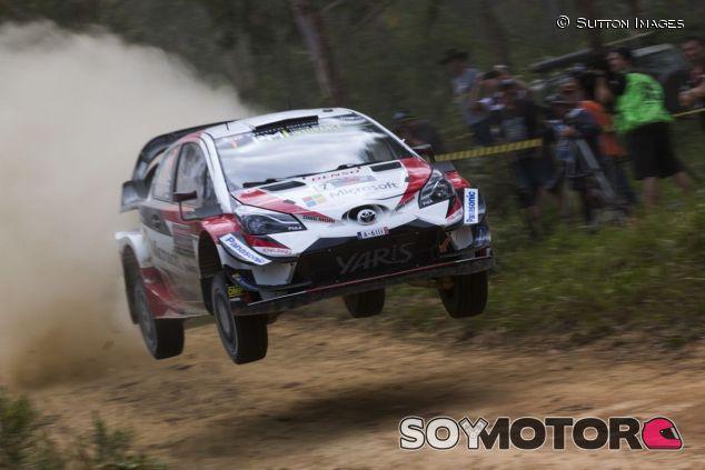Jari-Matti Latvala y Miikka Anttila en el Rally de Australia 2018 - SoyMotor.com
