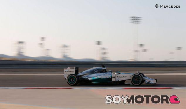 Nico Rosberg en los test de Baréin - LaF1
